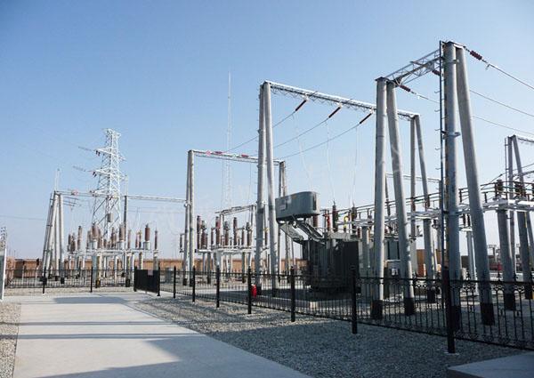 变电站应用架构电杆