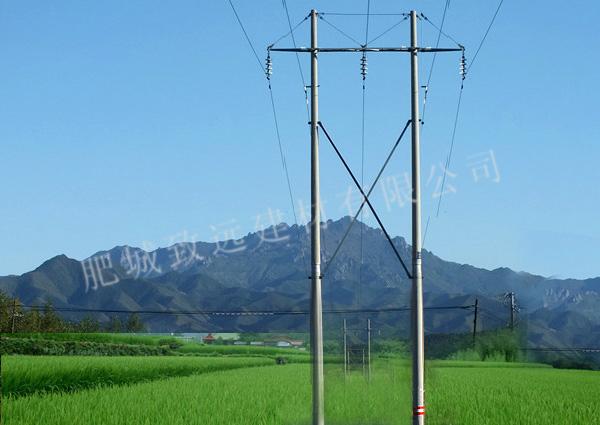220千伏及以下线路应用等径(锥形)分段电杆